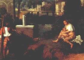 世界名画《暴风雨》油画欣赏