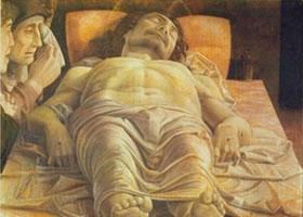 世界名画《基督之死》铜版画欣赏