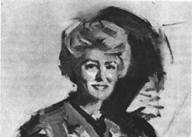 妇女肖像画画法步骤