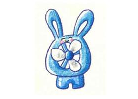 小电风扇盒色铅笔简笔画画法步骤
