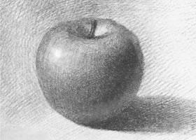 苹果的画法步骤