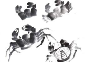 螃蟹的画法