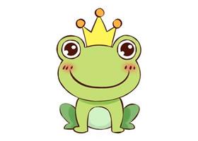 青蛙王子简笔画教程