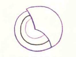 镜子的色铅笔简笔画画法步骤01