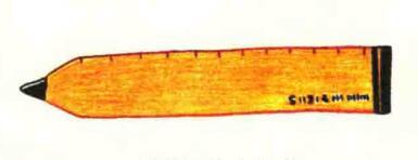 尺子色铅笔简笔画画法步骤05