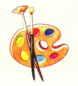 调色盘色铅笔简笔画画法步骤06