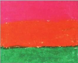 油棒画色彩混涂法