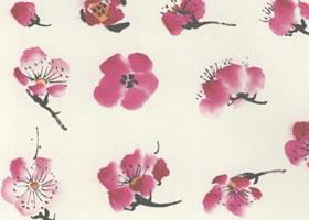 梅花花朵的画法