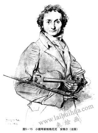 小提琴家帕格尼尼