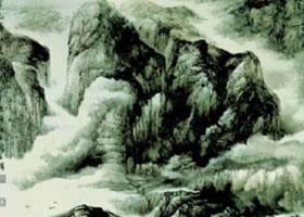 国画山水临摹的具体步骤