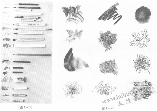 动画素描工具材料:笔