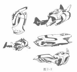 动画素描的形态与方向