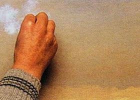 油画技法之压色法