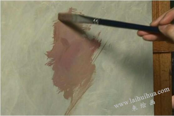 人物油画的作画步骤一