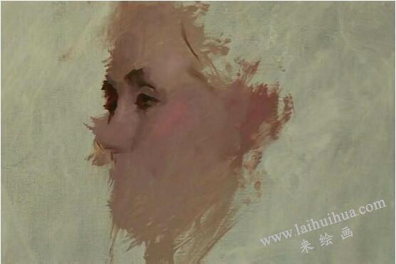 人物油画的作画步骤三