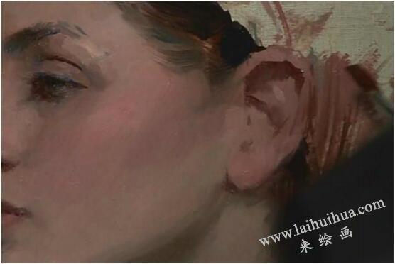 人物油画的作画步骤九