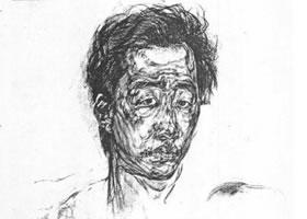 人物肖像素描画法范例(一)