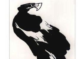鹰的写意画法