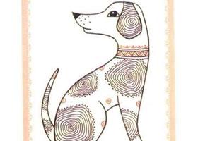 斑点狗简笔画法步骤