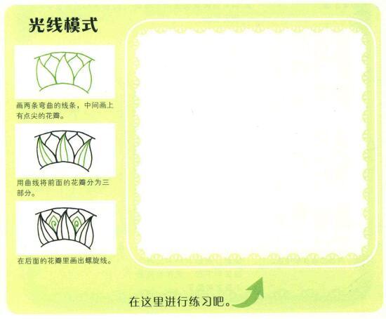 太阳简笔画法步骤(二)