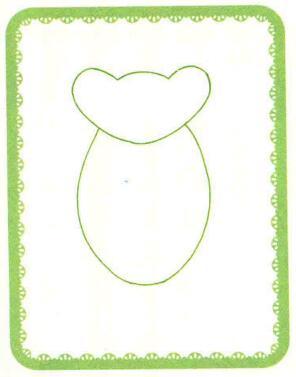 青蛙简笔画法步骤01