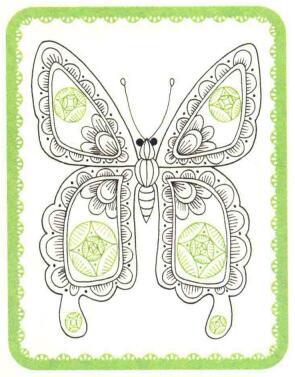 蝴蝶简笔画法步骤05