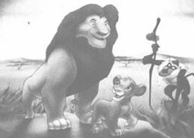 《狮子王》卡通影视制作关键环节分析