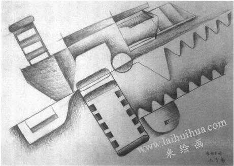 设计素描的特征:逻辑性