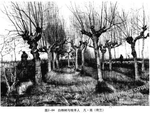 白桦树与牧羊人