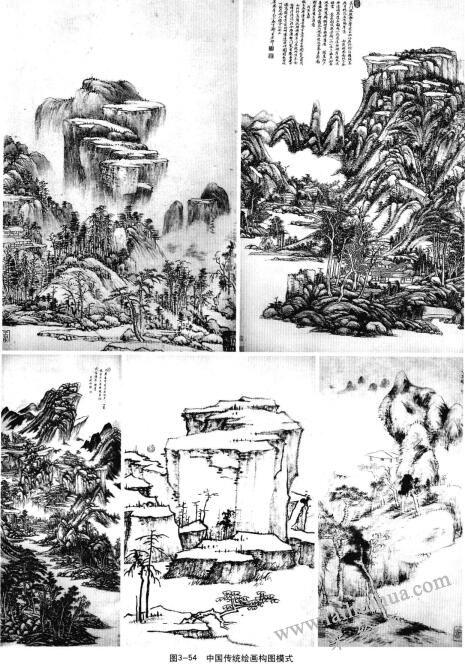 中国传统绘画构图模式