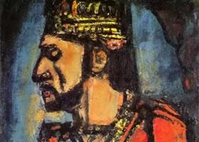 世界名画《老国王》
