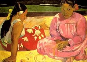 高更《塔希提岛的妇女》