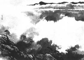 中国画的画云技法