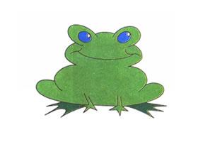 青蛙儿童卡通画法步骤
