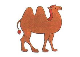 骆驼儿童卡通画法步骤