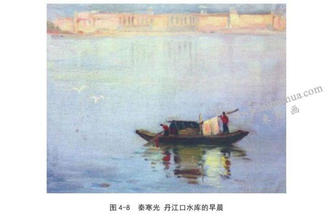 秦寒光   丹江口水库的早晨风景速写作品