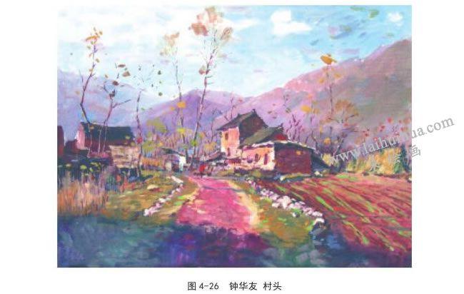 中华游  村头风景速写
