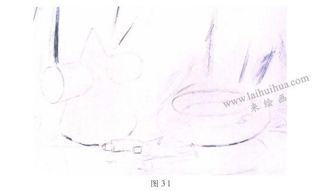 画具水彩画写生步骤01