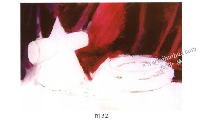 画具水彩画写生步骤02
