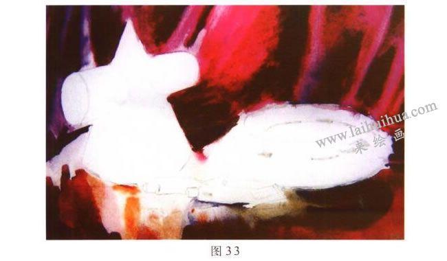 画具水彩画写生步骤03