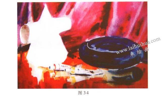 画具水彩画写生步骤04