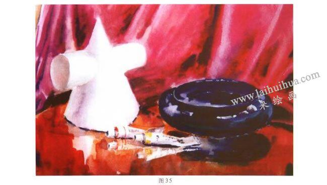 画具水彩画写生步骤05
