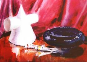 画具水彩画的写生步骤和写生要点