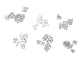 树叶的速写画法解析