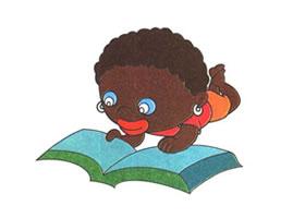 非洲小孩儿童卡通画法步骤