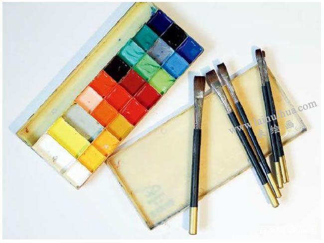 水粉画的作画工具