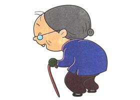 老奶奶儿童卡通画法步骤