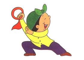 跳舞男孩儿童卡通画法步骤