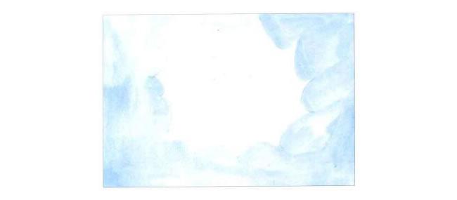 太阳的外轮廓,太阳哥哥水粉画法步骤01