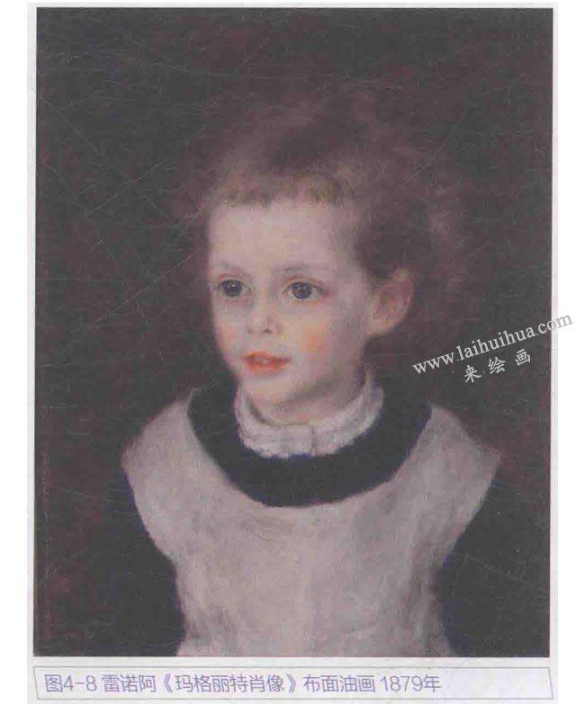 雷诺阿《玛格丽特肖像》
